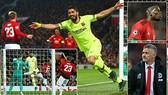 Man United - Barcelona 0-1: Messi chuyền, Suarez đánh đầu, Luke Shaw phản lưới nhà