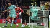 Watford - Arsenal 0-1:Foster vụng về, Aubameyang ghi bàn, Craig Pawson bất ngờ phạt Deeney thẻ đỏ