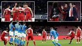 Napoli - Arsenal 0-1 (chung cuộc 0-3): Lacazette lập siêu phẩm, HLV Emery hạ Ancelotti vào bán kết