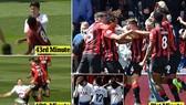 Bournemouth - Tottenham 1-0: Son Heung-min và Juan Foyth nhận thẻ đỏ, Nathan Ake làm người hùng