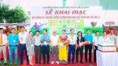 Lễ khai mạc có lãnh đạo tỉnh Quảng Bình, Hội đồng hương tỉnh Quảng Bình tại TPHCM, đại diện các đơn vị tài trợ.