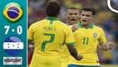 Brazil - Honduras 7-0: Vắng Neymar, Jesus, Silva, Coutinho, Neres, Firmino, Richarlison trút mưa gôn