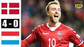 Đan Mạch - Luxembourg 4-0: Martin Braithwaite, Kasper Dolberg, Christian Gytkjaer tỏa sáng