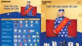 """""""Thấy tết lớn, Mừng tết lớn"""" cùng ưu đãi khủng nhất trong năm của TV Samsung"""