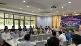 Buổi bốc thăm chia bảng diễn ra tại Hội trường ĐH Tôn Đức Thắng