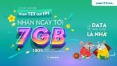 Viettel tặng data 4G cho khách hàng