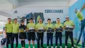 adidas Golf gửi tặng giày CODECHAOS cho các khách mời
