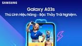Galaxy A03s: Thủ lĩnh phân khúc với Hiệu năng vượt trội