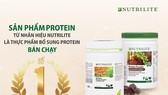 Dòng Nutrilite Protein đạt danh hiệu Thực phẩm bổ sung Protein bán chạy số 1 thế giới