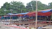 Sẽ tháo dỡ các lều quán dựng trái phép tại ghềnh đá Nam Ô