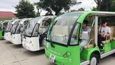Hội An thí điểm sử dụng xe buýt điện phục vụ khách du lịch