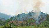 Đốt thực bì, cháy hơn 32 ha rừng phòng hộ tại Quảng Nam