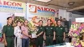 Quân khu 5 chúc mừng Báo Sài Gòn Giải Phóng nhân ngày Báo chí Cách mạng Việt Nam