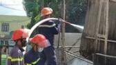 Quảng Nam: Cháy lớn tại kho hải sản