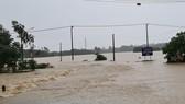 Quảng Nam: Giao thông bị chia cắt do lũ dâng cao