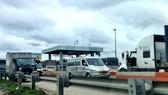 Cao tốc TPHCM - Trung Lương ùn ứ do tài xế không có giấy xét nghiệm Covid-19