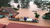 Mưa lũ vẫn vùi dập Quảng Bình, đây là ngày thứ 5 mưa lũ hành hành đặc biệt lớn
