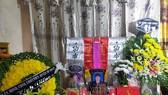 Tang lễ ông Phan Thanh Miên được tổ chức tại tư gia ở xã Bắc Trạch hôm 13-11-2020