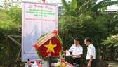 Dâng hương tưởng nhớ 64 anh hùng liệt sĩ Gạc Ma