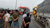 Tai nạn trên cầu Gianh, 1 người tử vong, quốc lộ 1A ách tắc hàng chục cây số