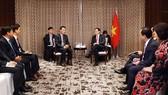 Phó Thủ tướng Vương Đình Huệ tiếp Tiếp Chủ tịch Công ty Alliex