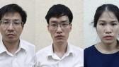 3 bị can Tùng, Huân, Hương