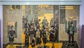 Một tác phẩm trưng bày tại triển lãm