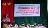 """Hội thảo khoa học cấp quốc gia """"Phong trào Đồng khởi 1960 - Bước ngoặt của cách mạng miền Nam"""". Ảnh: HÀM LUÔNG"""