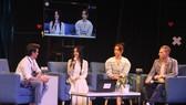 Nghệ sĩ hội tụ trong Talkshow Tương tác nghệ sĩ góp sức vì miền Trung chống Covid-19