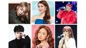 Danh sách bầu chọn MTV Việt Nam công bố gồm 6 ca sĩ: Hoàng Thùy Linh, Đức Phúc, Amee, Binz, Han Sara, Jack