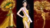 Hé lộ bản phác thảo trang phục dân tộc Á hậu Ngọc Thảo đem đến Miss Grand International 2020