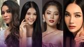 Lộ diện những thí sinh đầu tiên cuộc thi ảnh online Hoa hậu Hoàn vũ Việt Nam 2021