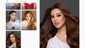 Hoa hậu Khánh Vân xuất hiện trên trang chủ Miss Universe