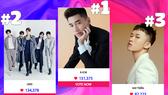 Lộ diện Top 3 MTV Fan Choice2021