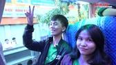 Chuyến xe mùa xuân đưa 3.000 sinh viên về quê đón Tết