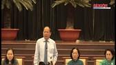 Lãnh đạo TP gặp gỡ đại biểu tiêu biểu các dân tộc thiểu số