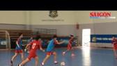 Tuyển Futsal nữ Việt Nam hăng say tập luyện