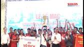 Trao giải bóng đá Thành phố mới Bình Dương - Cúp Becamex IDC 2018