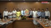 Bí thư Thành ủy TPHCM Nguyễn Thiện Nhân thăm, chúc tết Báo SGGP