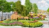 Hơn 130 loài hoa sẽ phục vụ thưởng lãm tại đường hoa Nguyễn Huệ