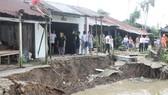 Sạt lở ở ĐBSCL ngày càng phức tạp, nhất là mùa mưa bão, gây nhiều thiệt hại cho người dân