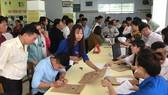 Trường ĐH Trà Vinh tư vấn xét tuyển và làm thủ tục nhập học cho những sinh viên vừa trúng tuyển 2018