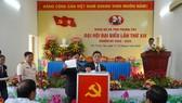 Đại hội đại biểu Đảng bộ xã Tân Thuận Tây (TP Cao Lãnh) lần thứ XIV, nhiệm kỳ 2020 – 2025. Ảnh: NGUYỆT ÁNH