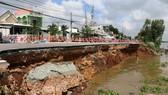 UBND tỉnh An GiangHiện trường sạt lở QL 91 đoạn qua xã Bình Mỹ, huyện Châu Phú