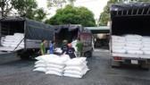 Bắt 39 tấn đường cát nghi nhập lậu