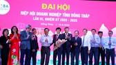 Ông Hồ Chí Dũng được bầu làm Chủ tịch Hiệp hội Doanh nghiệp tỉnh Đồng Tháp