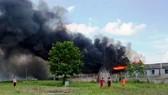 Cháy nhà kho nước mắm cá linh, thiệt hại hơn 500 triệu đồng