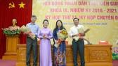 Bà Lê Hồng Thắm giữ chức Phó Chủ tịch HĐND tỉnh Kiên Giang