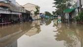 Hơn 2.500 căn nhà ở Vĩnh Long bị ngập do triều cường
