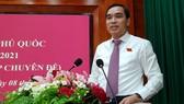 Ông Huỳnh Quang Hưng được bầu giữ chức Chủ tịch UBND huyện Phú Quốc